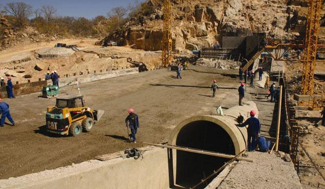 Ntimbale Dam