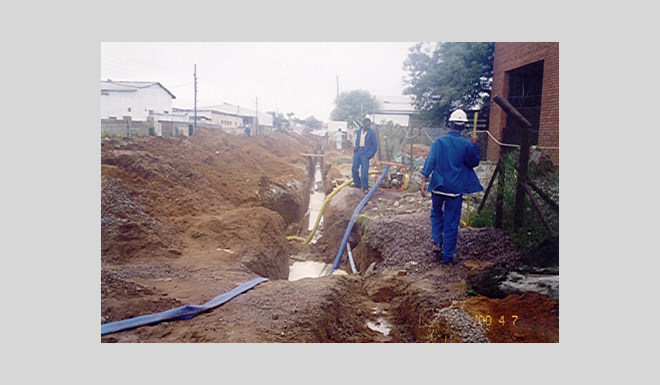 Tlokweng Water Supply & Sanitation Works